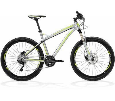 Велосипед Ghost SE 5000 grey/grey/lime green RH44 2013, фото 1