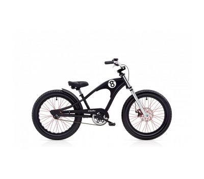 "Велосипед 20"" Electra Straight 8 1 boys Matte black (BIC-17-11), фото 1"