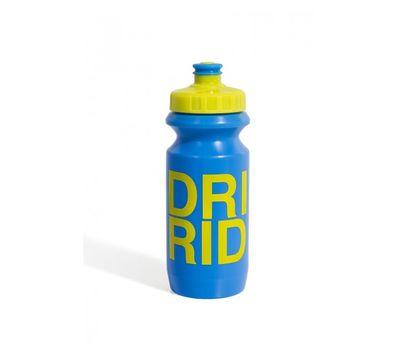 Фляга 600ml Green Cycle Drink & Ride с Big Flow valve, LDPE blue nipple/ yellow matt cap/ blue matt bottle (BOT-26-66), фото 1
