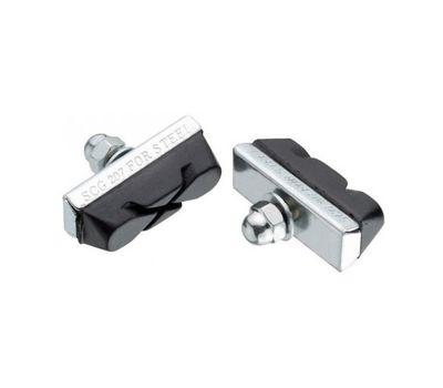 Колодки тормозные MTB v-br. JAGWIRE Basics X-Caliper BWP1001 - Silver (JS207N) 50пар (BRS-10-40), фото 1