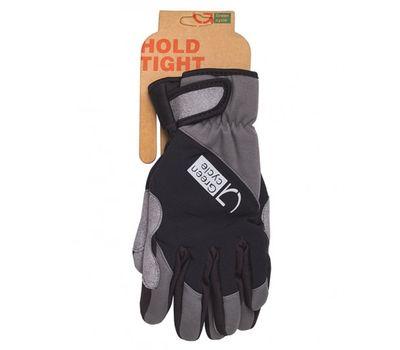Перчатки Green Cycle NC-2582-2015 Winter с закрытыми пальцами черно-серые, фото 1