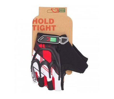 Перчатки Green Cycle NC-2501-2015 MTB Gel без пальцев черно-красные, фото 1