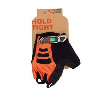 Перчатки Green Cycle NC-2507-2015 MTB Gel без пальцев оранжево-черные, фото 1