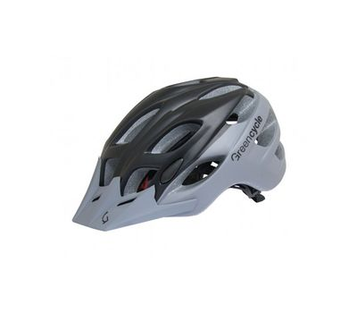 Шлем Green Cycle Enduro черно-серый, фото 1