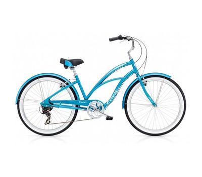 "Велосипед 26"" Electra Cruiser Lux 7D Ladies' Blue Metallic (SKD-56-43), фото 1"