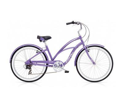"""Велосипед 26"""" Electra Cruiser Lux 7D Ladies' Purple Metallic (SKD-57-12), фото 1"""