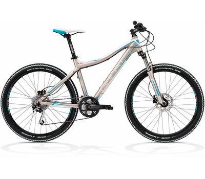 Велосипед Ghost Miss 3000 light grey/white/petrol RH34 2013, фото 1