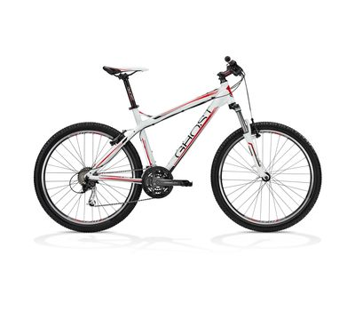 Велосипед Ghost SE 1800 white/black/red RH34 2013, фото 1