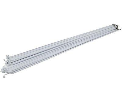 Спица стальная 285мм 14G SLE с хром.нип белая (100 шт) (SPO-90-51), фото 1