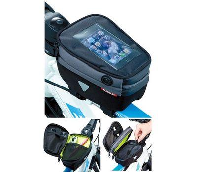 """Сумка на раму Konnix TY-10071, для диагонали мобильного до 4.7"""", жесткий водостойкий корпус (BIB-17-71), фото 1"""