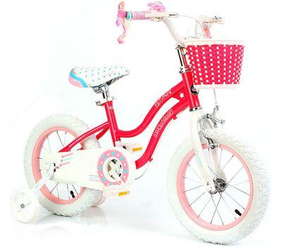 "Велосипед RoyalBaby Star Girl 12"", розовый, фото 1"