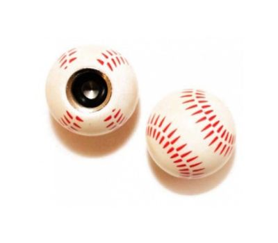 Колпачок для камеры TW V-26 в виде бейсбольного мяча из пластика (в комплекте 4шт) Автомобильного стандарта (CTU-84), фото 1