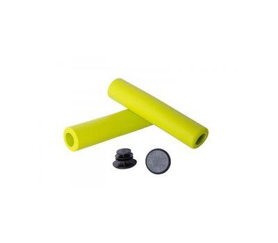 Грипсы Green Cycle GC-SGR001 130mm вспененный силикон, зеленые (GRI-49-68), фото 1