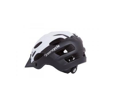 Шлем Green Cycle Enduro черно-белый матовый, фото 2