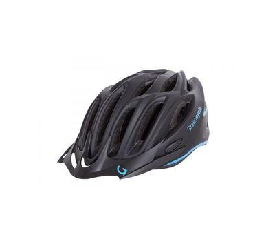 Шлем Green Cycle New Rock черно-голубой матовый, фото 1