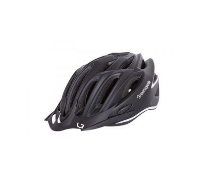 Шлем Green Cycle New Rock черно-белый матовый, фото 1