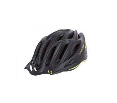 Шлем Green Cycle New Rock черно-желтый матовый, фото 1
