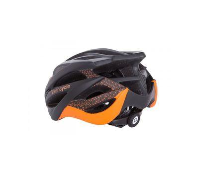 Шлем Green Cycle New Alleycat для города/шоссе черно-оранжевый матовый, фото 2