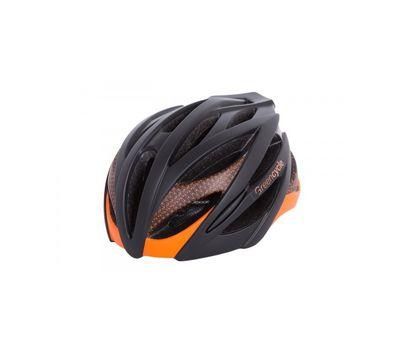 Шлем Green Cycle New Alleycat для города/шоссе черно-оранжевый матовый, фото 1