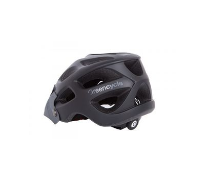 Шлем Green Cycle Slash черно-серый матовый, фото 1