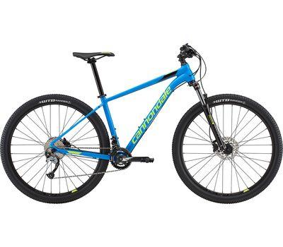 "Велосипед 29"" Cannondale Trail 6 рама - L SPB синий с салатовым 2018 (SKD-25-67), фото 1"