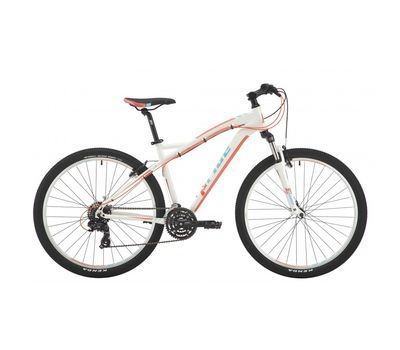 "Велосипед 27,5"" Pride Roxy 7.1 рама - 16"" белый/коралловый/бирюзовый 2017 (SKD-10-79), фото 1"