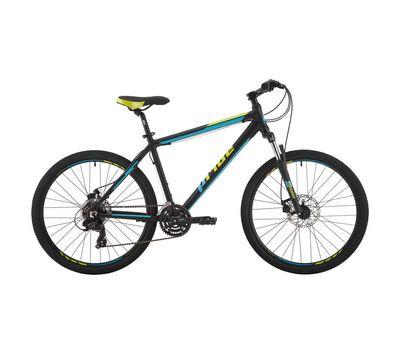 "Велосипед 26"" Pride Marvel 2.0 рама - 17"" черный/голубой/лайм 2017 (SKD-13-87), фото 1"