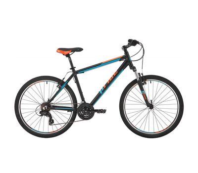 """Велосипед 26"""" Pride Marvel 1.0 рама - 17"""" черный/голубой/оранжевый 2017 (SKD-56-30), фото 1"""