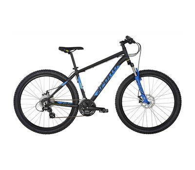 "Велосипед 27,5"" Apollo Aspire 20 рама - L Matte Black/Matte Blue/Matte Lime 2017 (SKD-44-04), фото 1"