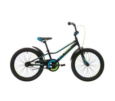 "Велосипед 20"" Pride Jack черный/синий/лайм 2017 (SKD-81-16), фото 1"