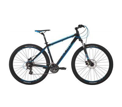"Велосипед 29"" Pride Rebel 9.2 рама - 17"" черный/синий/голубой 2017 (SKD-87-93), фото 1"