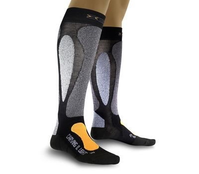 Термоноски X-Socks Carving Ultralight X39 Black/Orange (X20022), фото 1