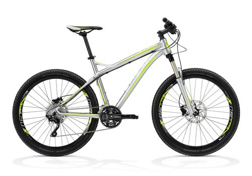 Велосипед Ghost SE 1300 grey/blue/lime green RH34 2013, фото 1