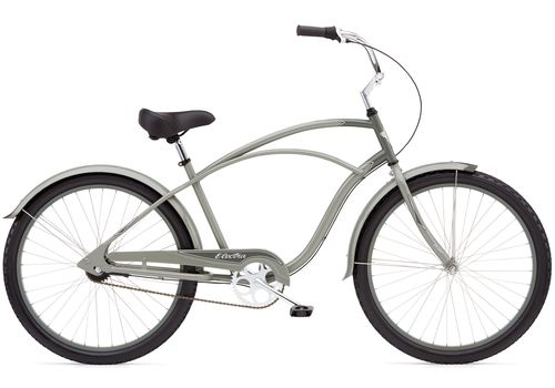 "Велосипед 26"" Electra Cruiser Custom 3i Men's 2013 grey/dark grey, фото 1"