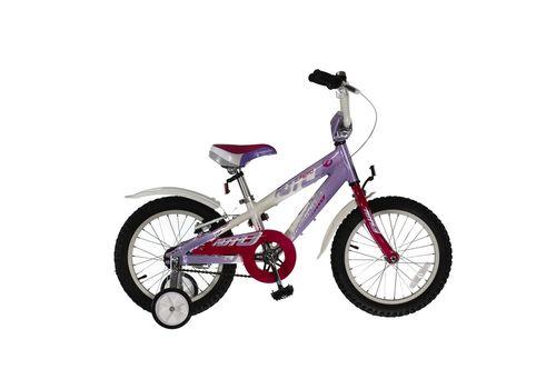 """Велосипед Comanche Moto W16 Фіолетовий-білий (рама 8""""), фото 1"""