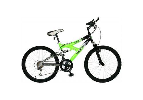 """Велосипед Comanche Indigo DS Черный-зеленый (рама 13""""), фото 1"""