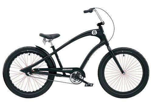 """Велосипед 24"""" Electra Straight 8 3i (Alloy) Men's black, фото 1"""