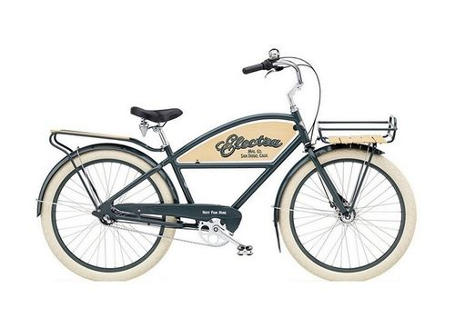 "Велосипед 26"" Electra Delivery 3i Men's 2013 grey, фото 1"