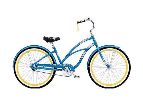 "Велосипед 26"" Electra Hawaii Custom 3i (Alloy) Ladies' Blue metallic (BIC-18-86), фото 1"