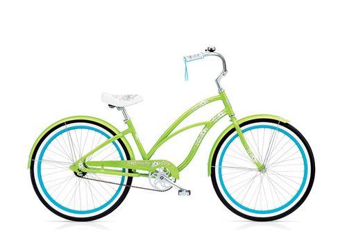 "Велосипед 26"" Electra Hawaii Custom 3i (Alloy) Ladie lime metallic, фото 1"