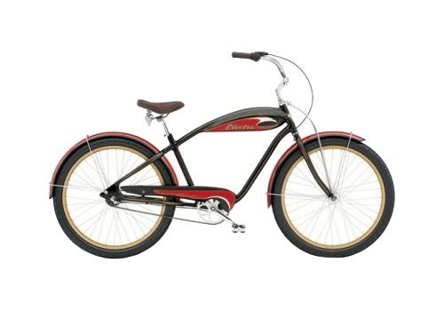 "Велосипед 26"" Electra Mulholland 3i (Alloy) Men's black/red, фото 1"