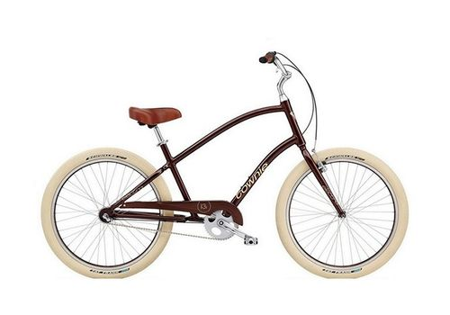 "Велосипед 26"" Electra Townie Balloon 3i Men's Brown metallic, фото 1"