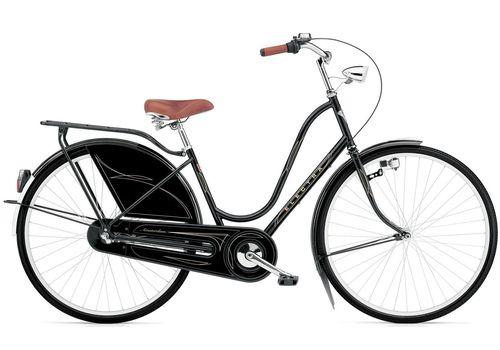 "Велосипед 28"" Electra Amsterdam Classic 3i Al black ladies, фото 1"