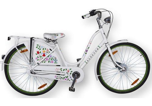 "Велосипед 28"" Electra Amsterdam Classic 3i Tree of Life (Girard) бел (SKDU-28-03), фото 1"