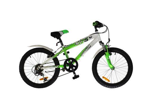 """Велосипед Comanche Moto Six Білий-зелений (рама 10""""), фото 1"""