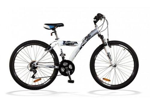 """Велосипед Comanche Ontario Fly Стальной-белый (рама 18""""), фото 1"""