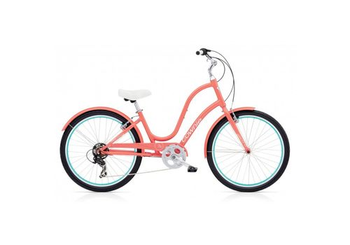 "Велосипед 26"" Electra Townie Original 7D Ladies' Coral (BIC-18-64), фото 1"