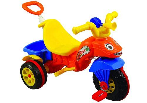 Велосипед 3-х кол. Катерпілар (колір зеленый та помаранчевий), фото 1