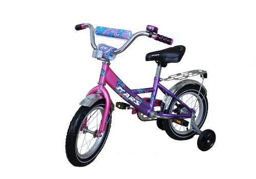 """Велосипед Марс 20"""" гальмо+ексцентрик (розовый/фиолетовый), фото 1"""