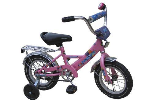 """Велосипед Марс 16"""" ручной тормоз+эксцентрик (розовый), фото 1"""